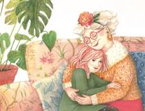 De armen van mijn oma
