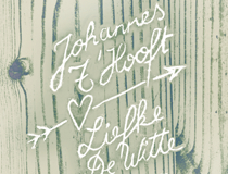 Weddinginvite Johannes & Liefke